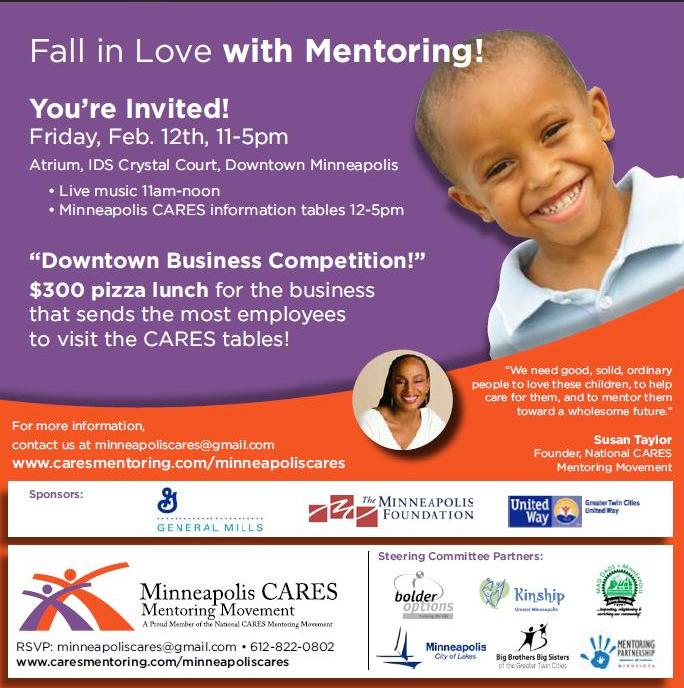 """""""Fall in Love with Mentoring"""" E-vite"""