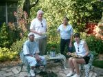 Chuck and Francelle years ago with Raffi & Brittany, two North Minneapolis kids who became friends through
